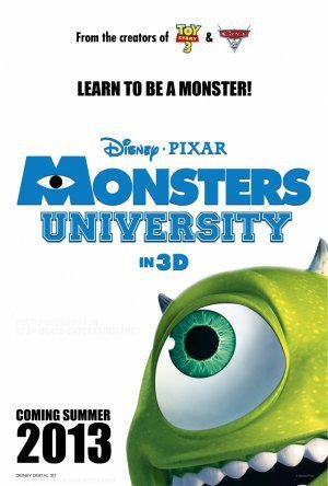 Monsters university (2013) poster