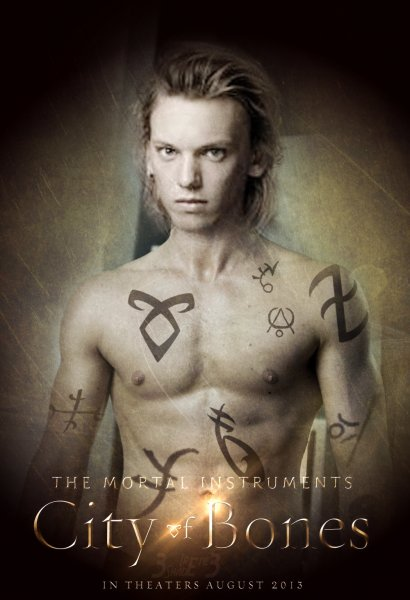 Mortal Instruments: City of Bones, The poster