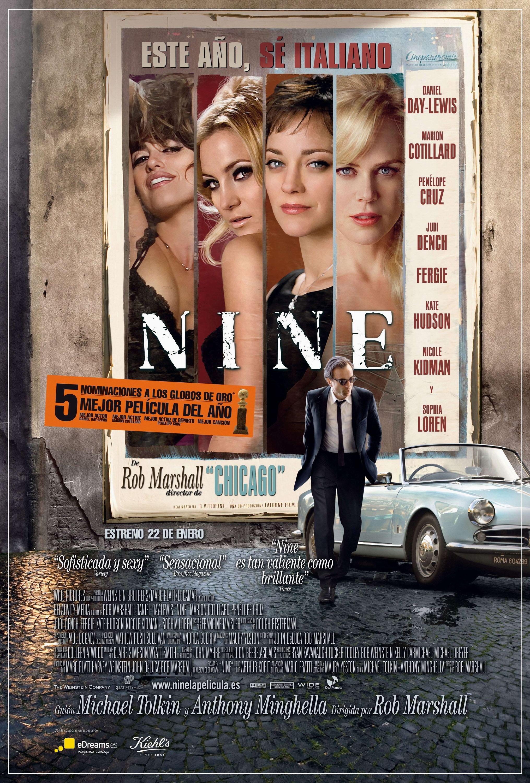 Nine (2009) poster - FreeMoviePosters.net | 2031 x 3000 jpeg 1399kB