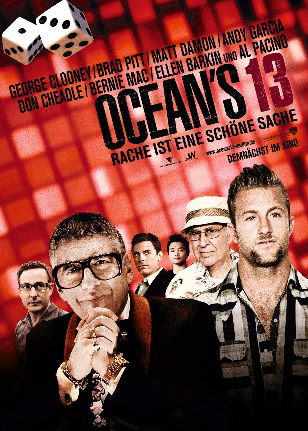 Ocean S Thirteen 2007 Poster Freemovieposters Net