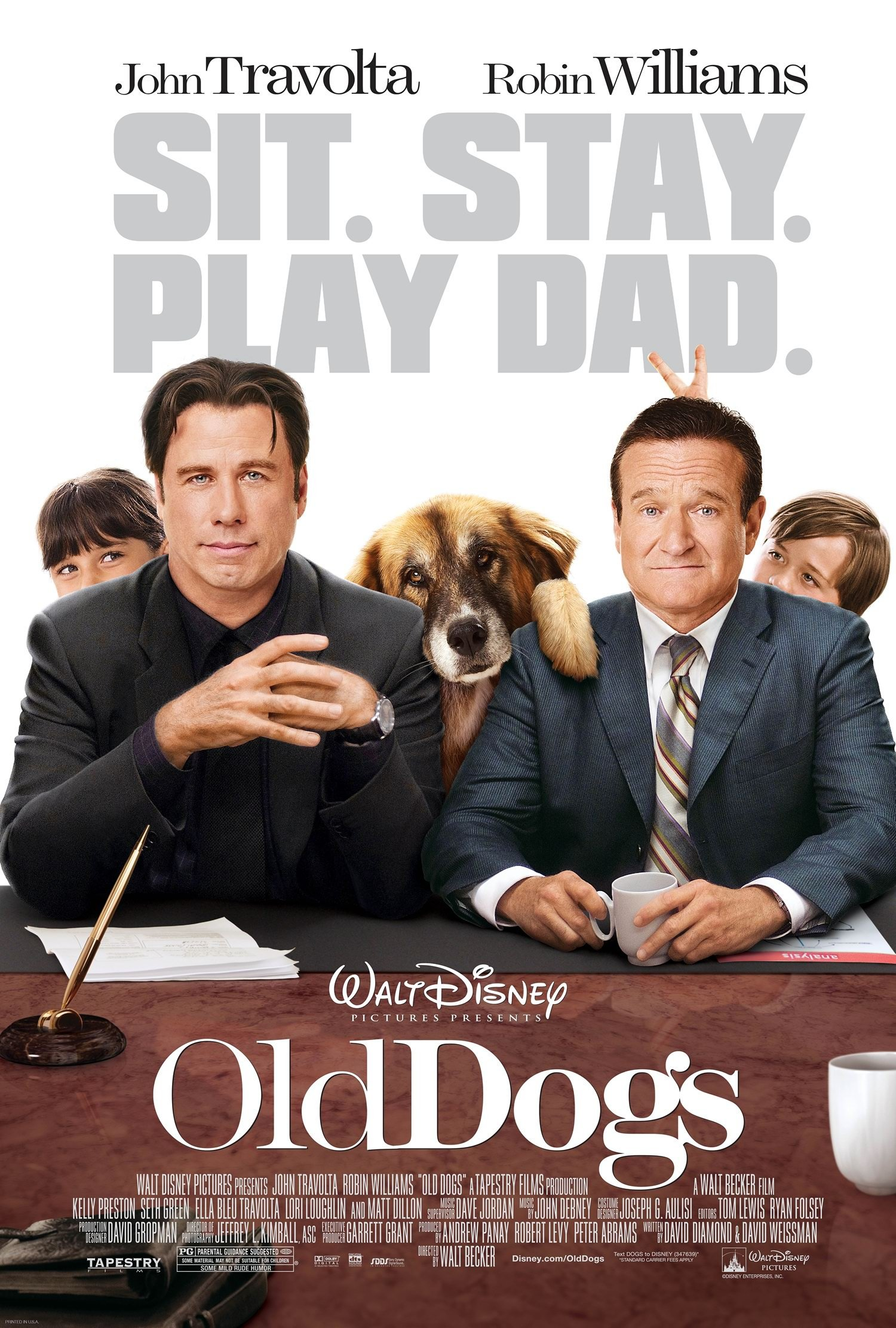 old dogs 2009 poster freemoviepostersnet