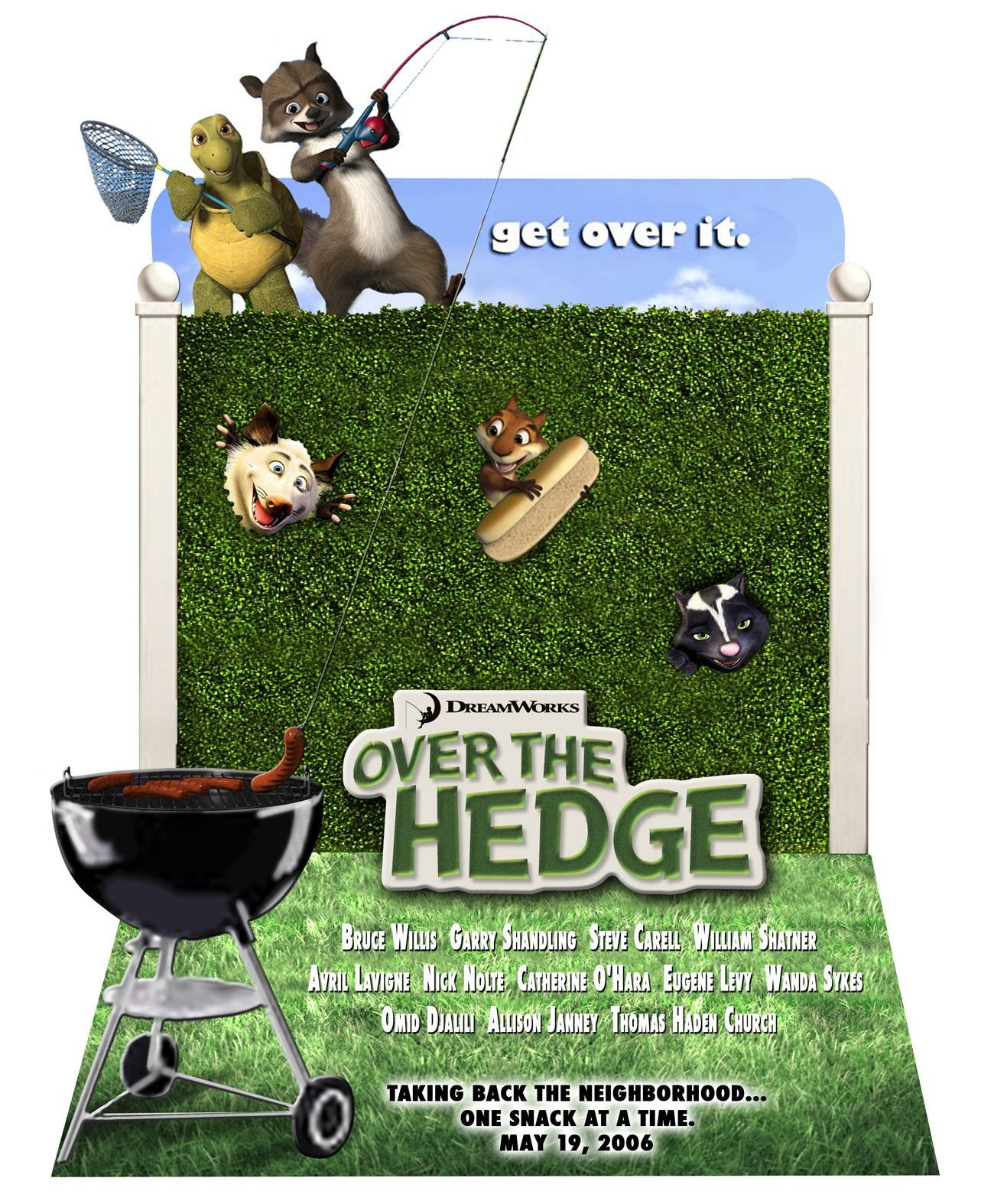 Over The Hedge 2006 Poster Freemovieposters Net