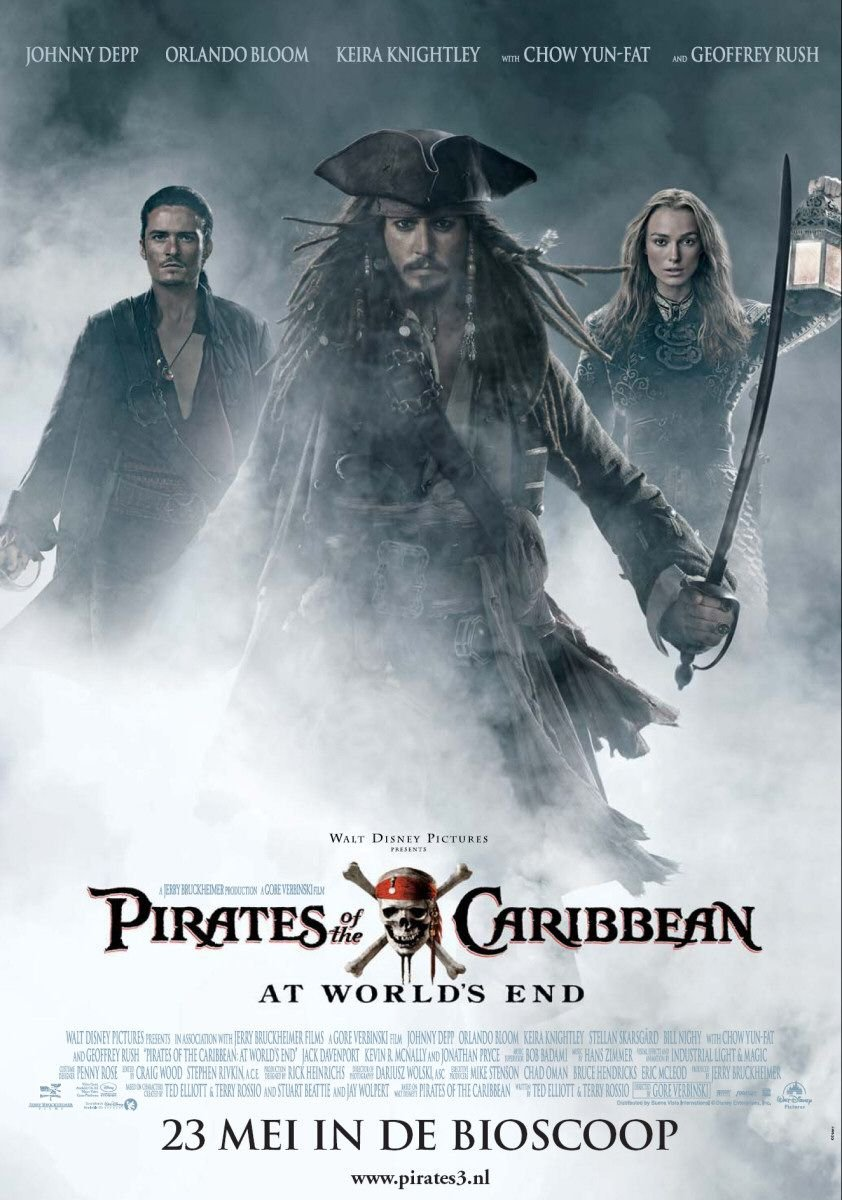 movie assignment pirates of the caribbean The 'dead' pirates represent horror adventure is shown through the blind voyage taken by sparrow and turner the developing relationship between elizabeth & will stands for romance while johnny depp – along with the 'not so clever' pirates – create a thoroughly entertaining comedy.