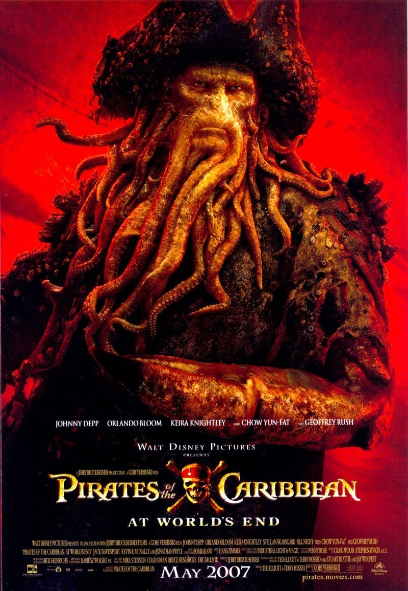 Pirates of the caribbean: at world's end (2007) poster