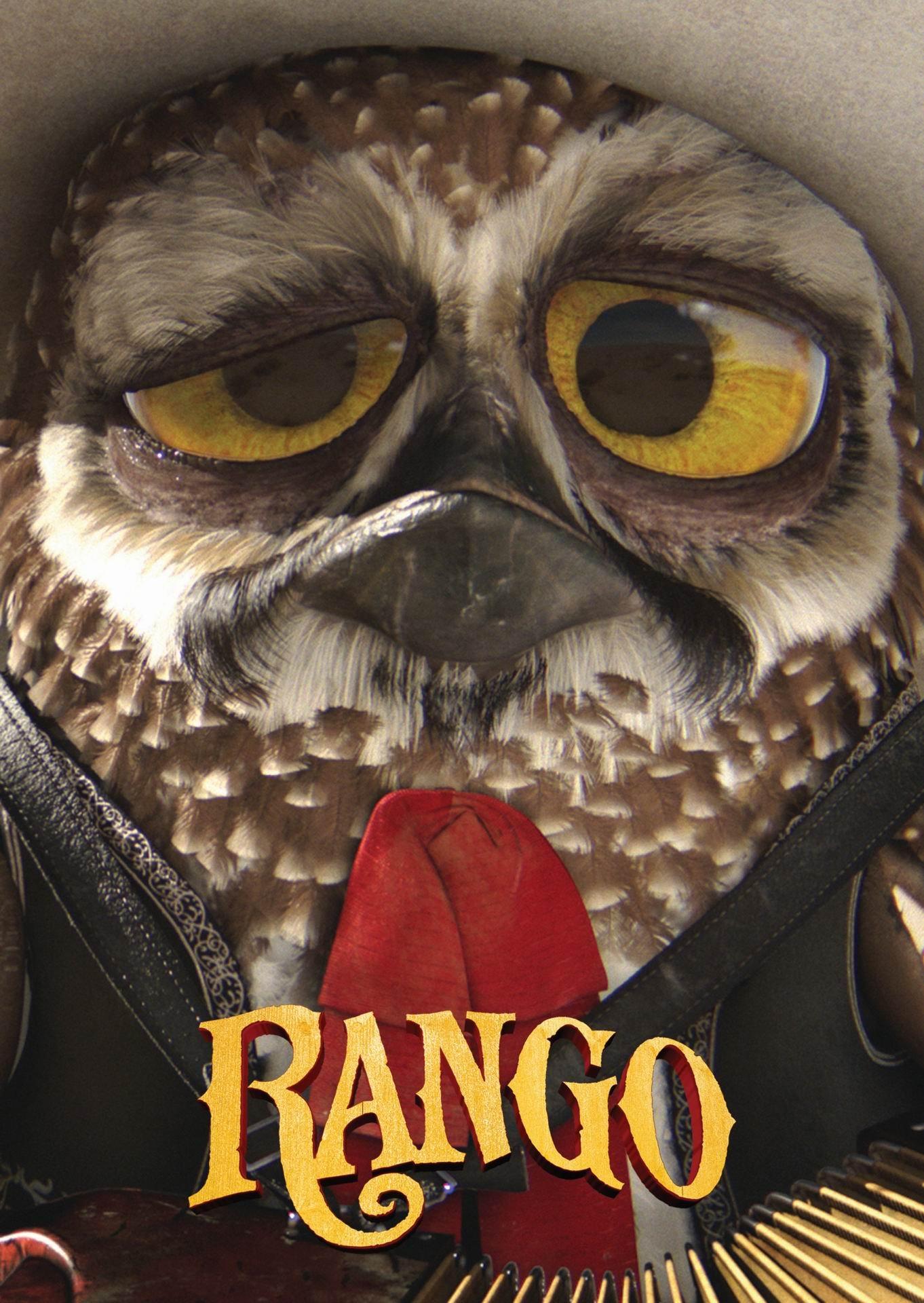Rango (2011) poster - FreeMoviePosters.net