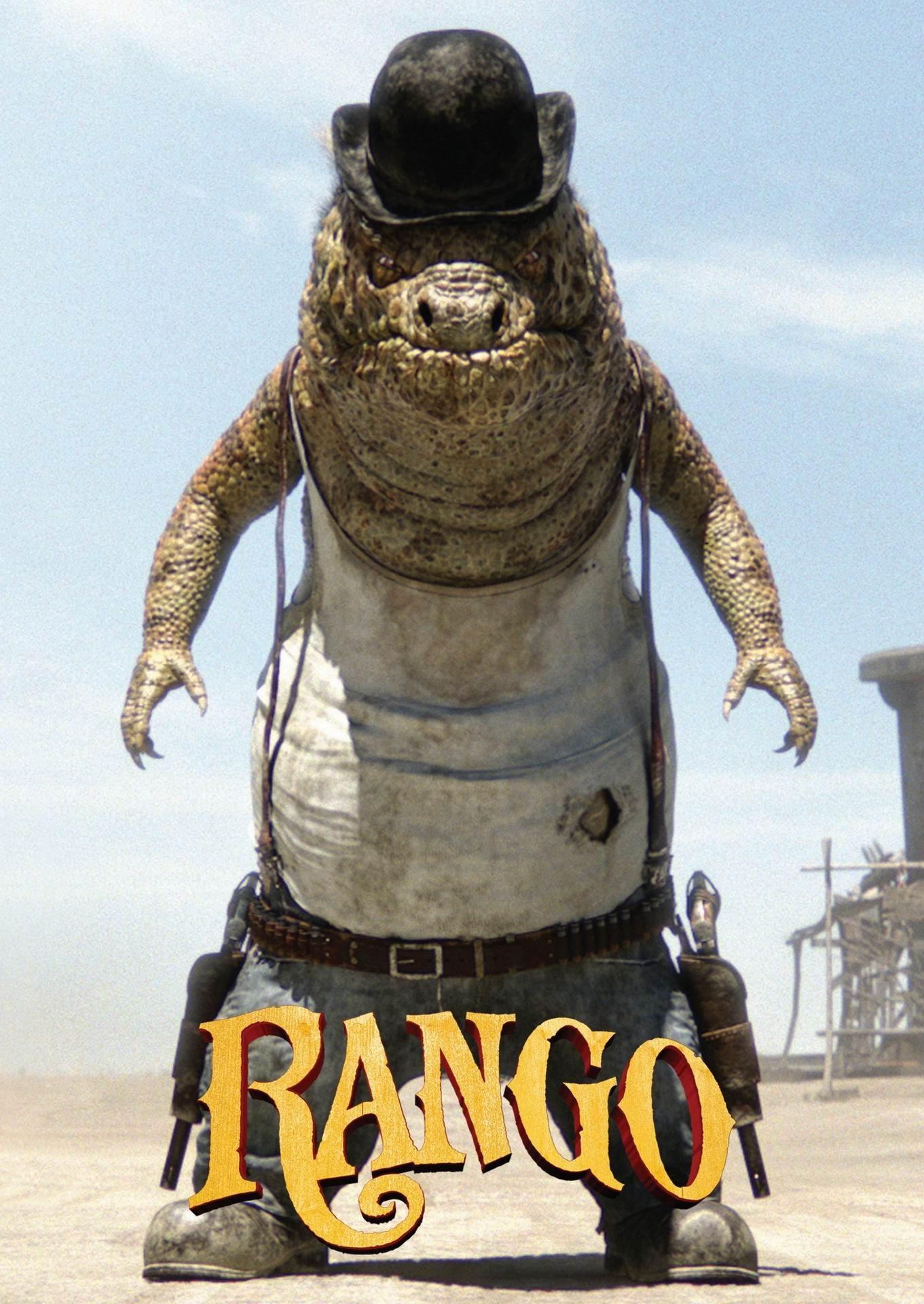 Rango 2011 Poster Freemovieposters Net