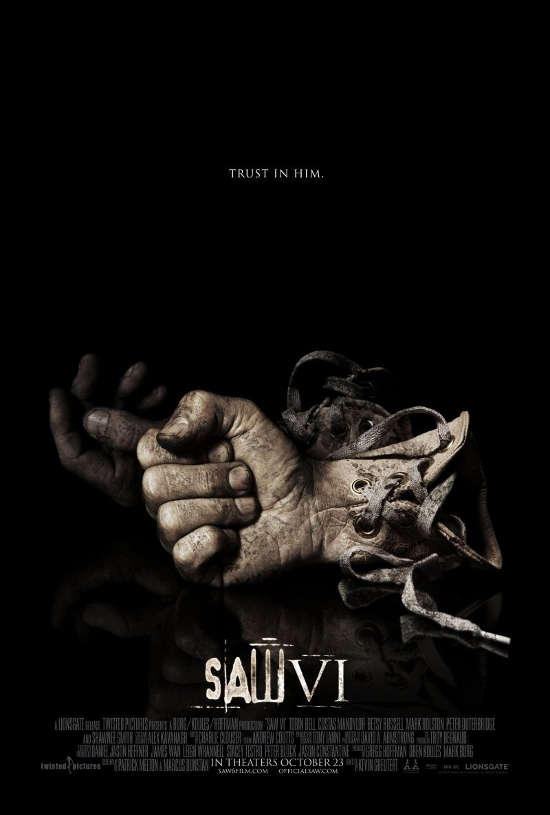 saw vi 2009 poster. Black Bedroom Furniture Sets. Home Design Ideas