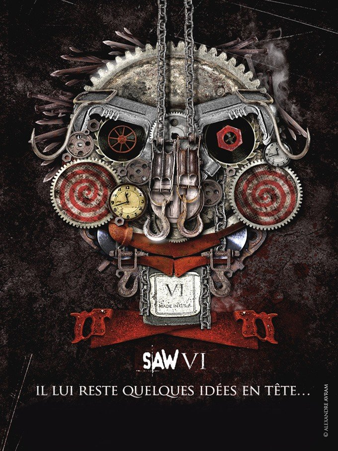 Saw VI (2009) poster - FreeMoviePosters.net