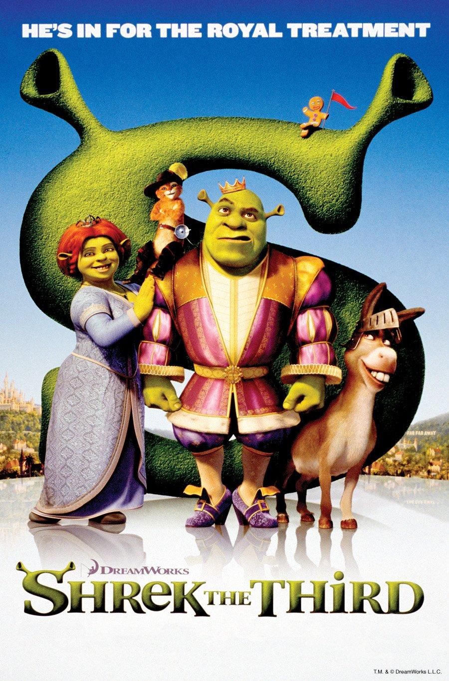 Shrek The Third 2007 Poster Freemovieposters Net