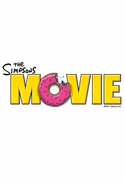 Simpsons Movie, The poster