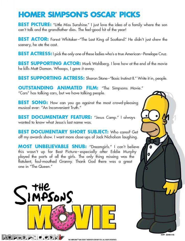 Simpsons Movie The 2007 Poster Freemovieposters Net