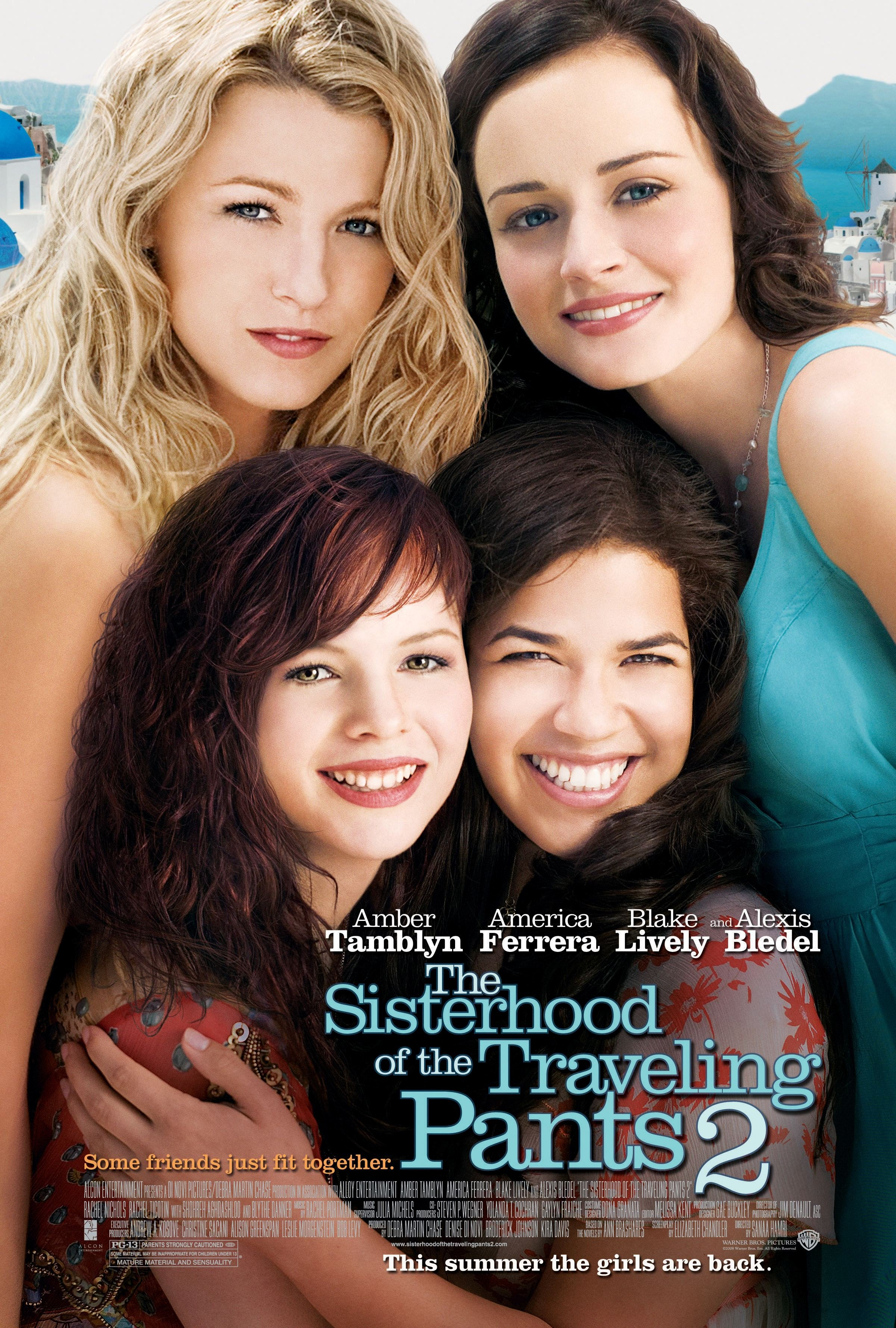 Sisterhood of the traveling pants 2 the 2008 poster