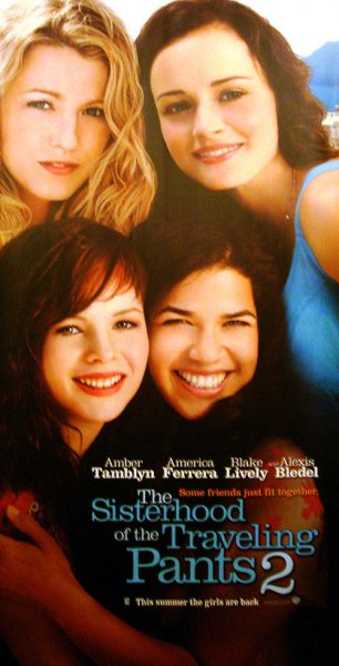 Sisterhood of the Traveling Pants 2, The poster