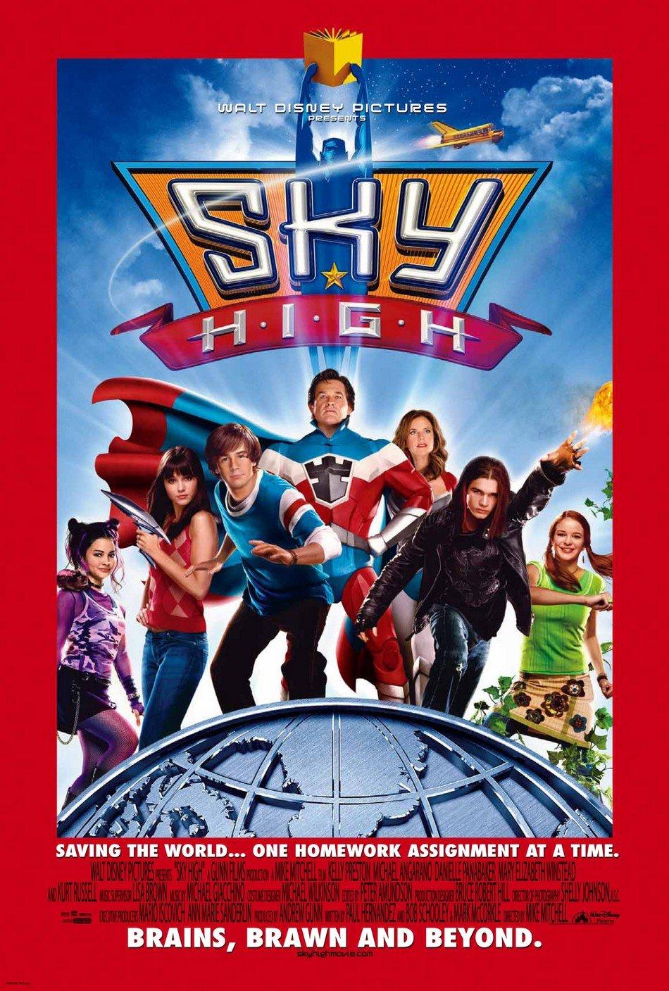 sky high 2005 poster freemoviepostersnet