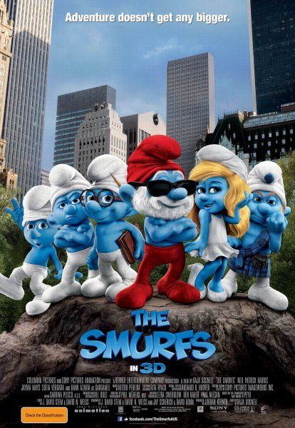 Smurfs, The poster