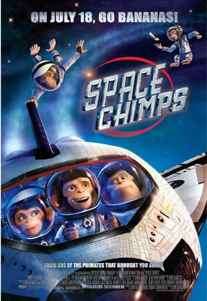 Space Chimps poster