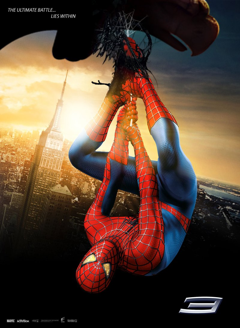 Spider man 3 2007 poster for 3 by 3 prints