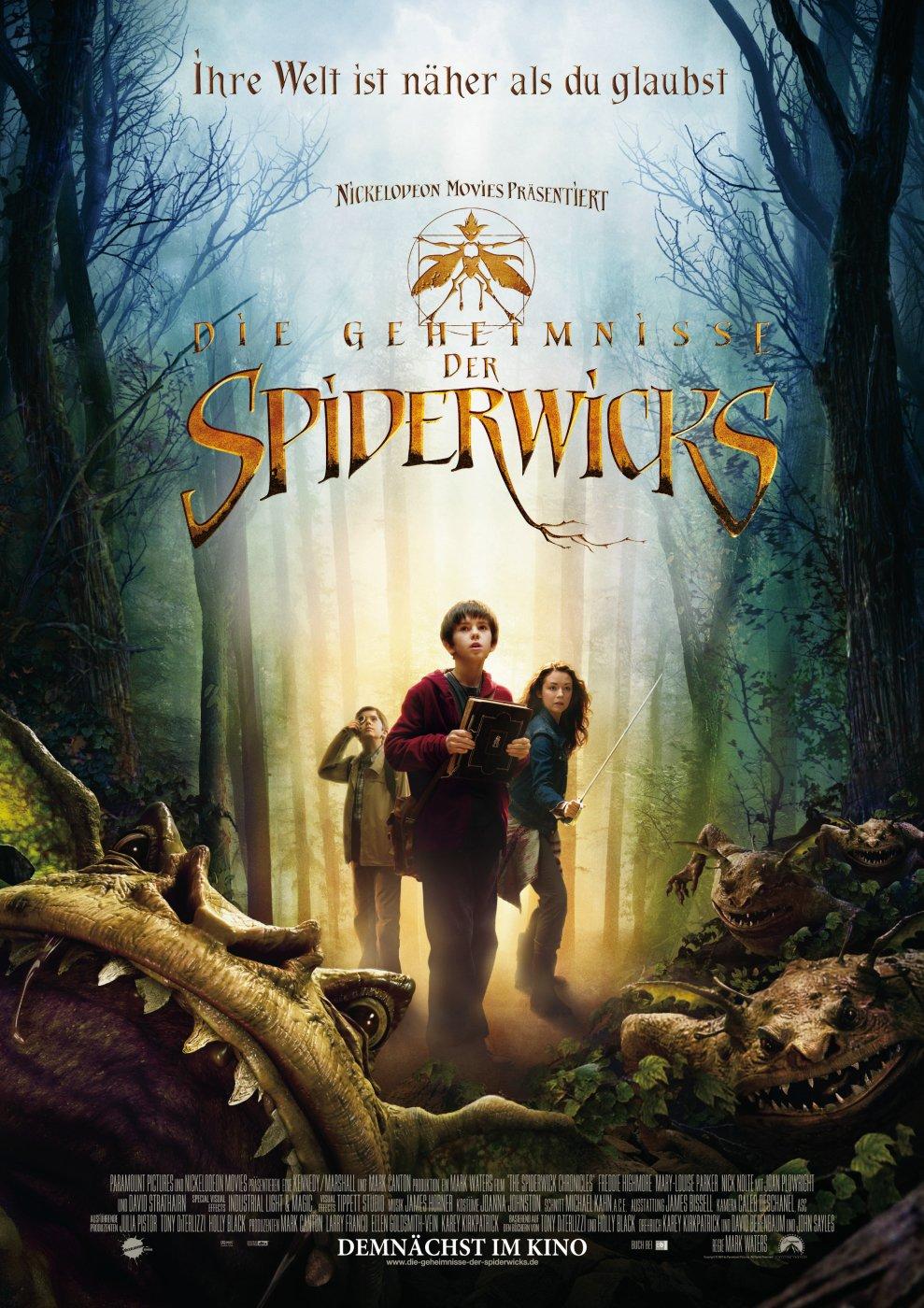 Das Geheimnis Der Spiderwicks
