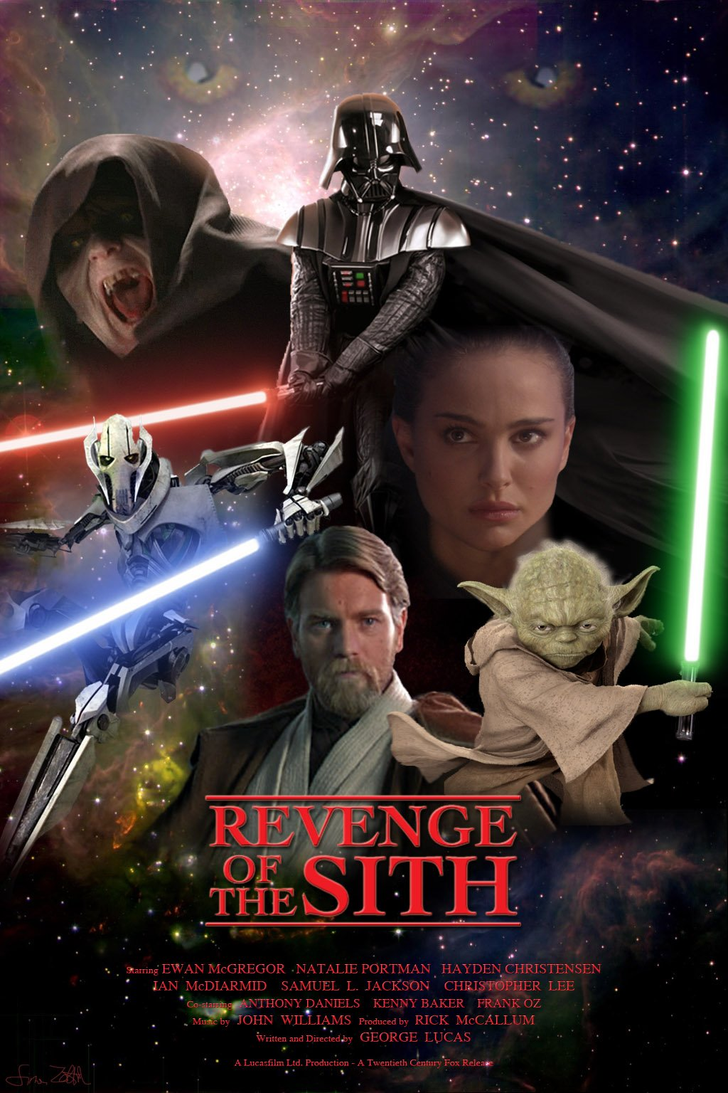 Star Wars Episode Iii Revenge Of The Sith Movie Posters Freemovieposters Net