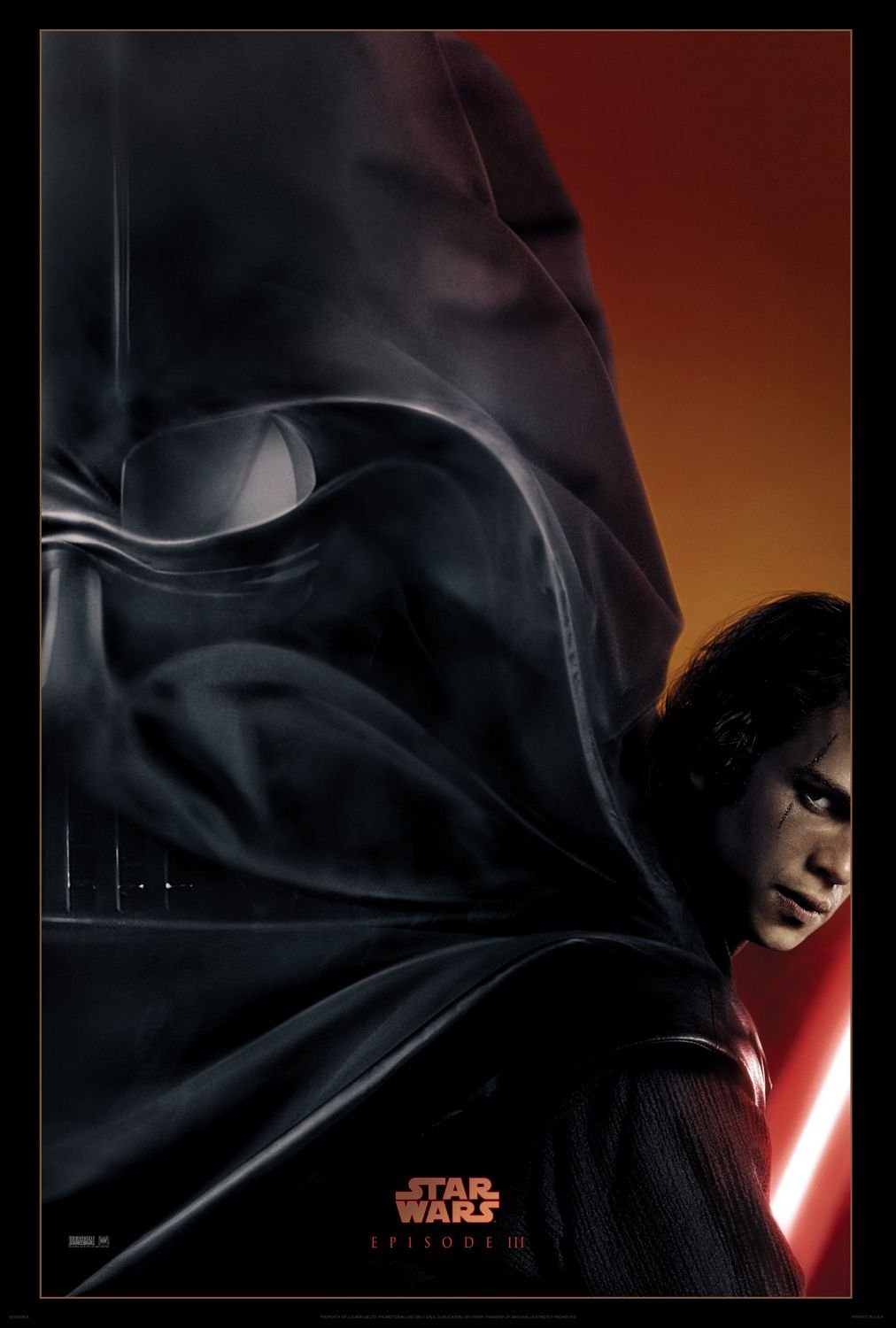 Star wars episode iii revenge of the sith 2005 poster