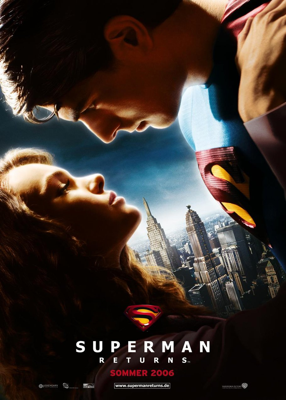 Poster Superman Returns 2006 Full Dual Audio Movie Download 720p 650MB