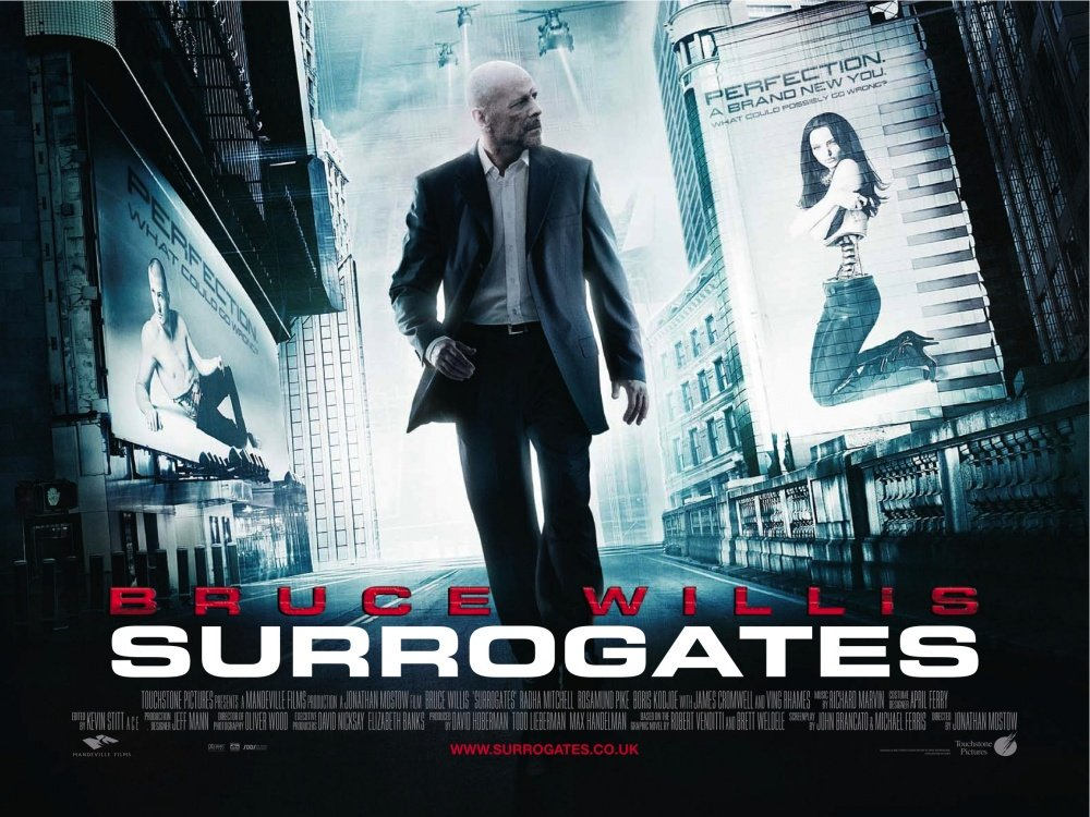 Movie Posters 2009: Surrogates (2009) Poster