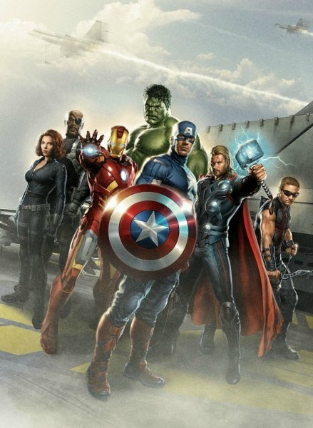 Avengers, The poster