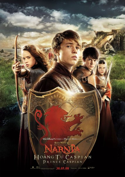 Chronicles of Narnia: Prince Caspian, The poster