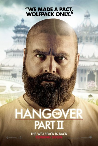 Hangover Part II, The poster