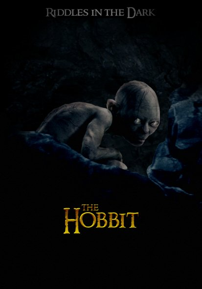 Hobbit: An Unexpected Journey, The poster