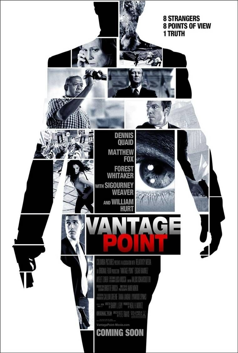 Vantage Point (2008) poster - FreeMoviePosters.net