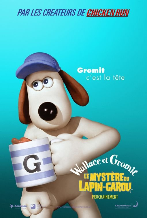 Wallace And Gromit The Curse Of The Were Rabbit 2005 Poster Freemovieposters Net