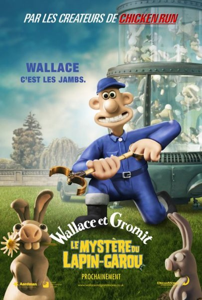Wallace and Gromit: The Curse of the Were-Rabbit poster