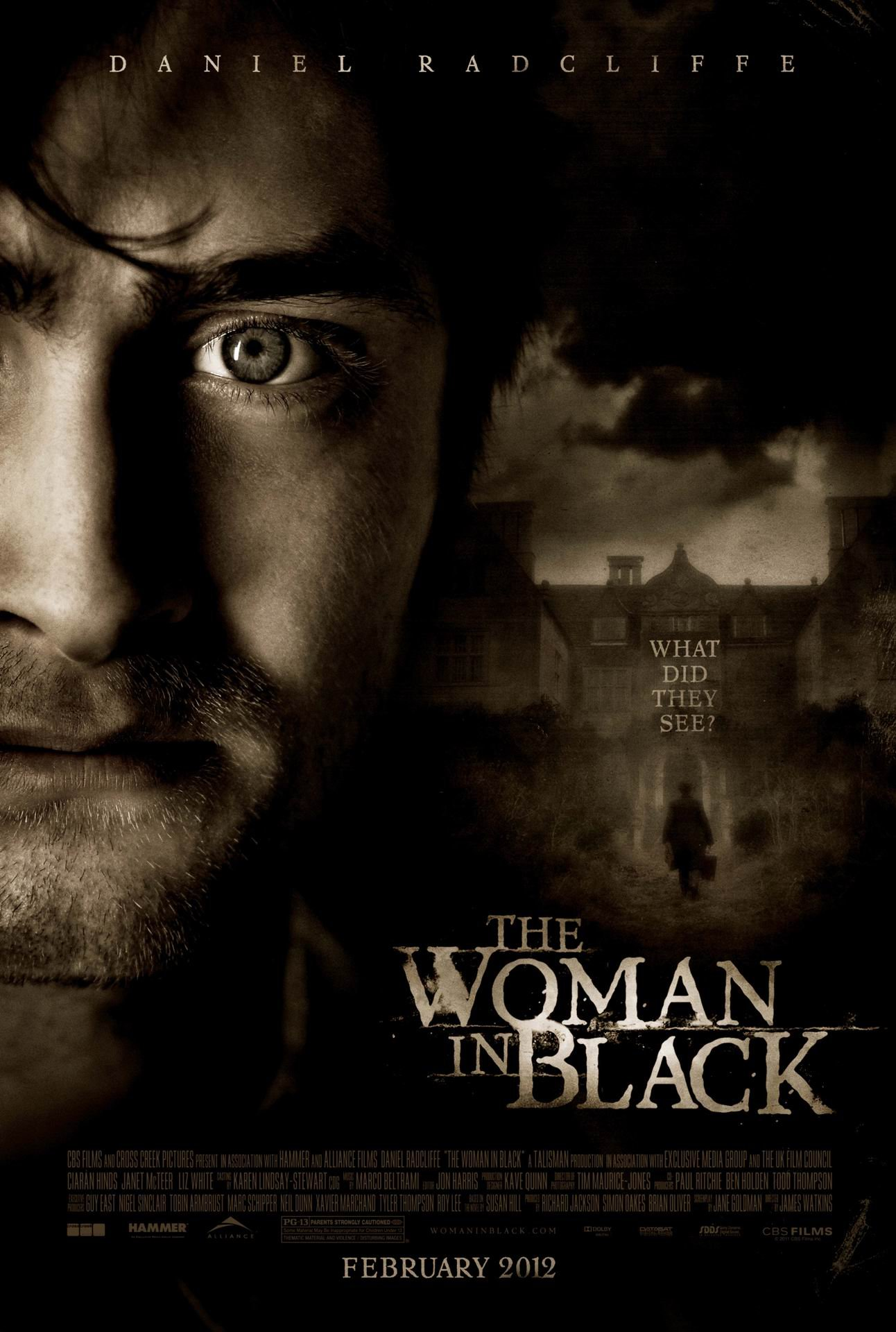 Woman in Black, The (2012) poster - FreeMoviePosters.net