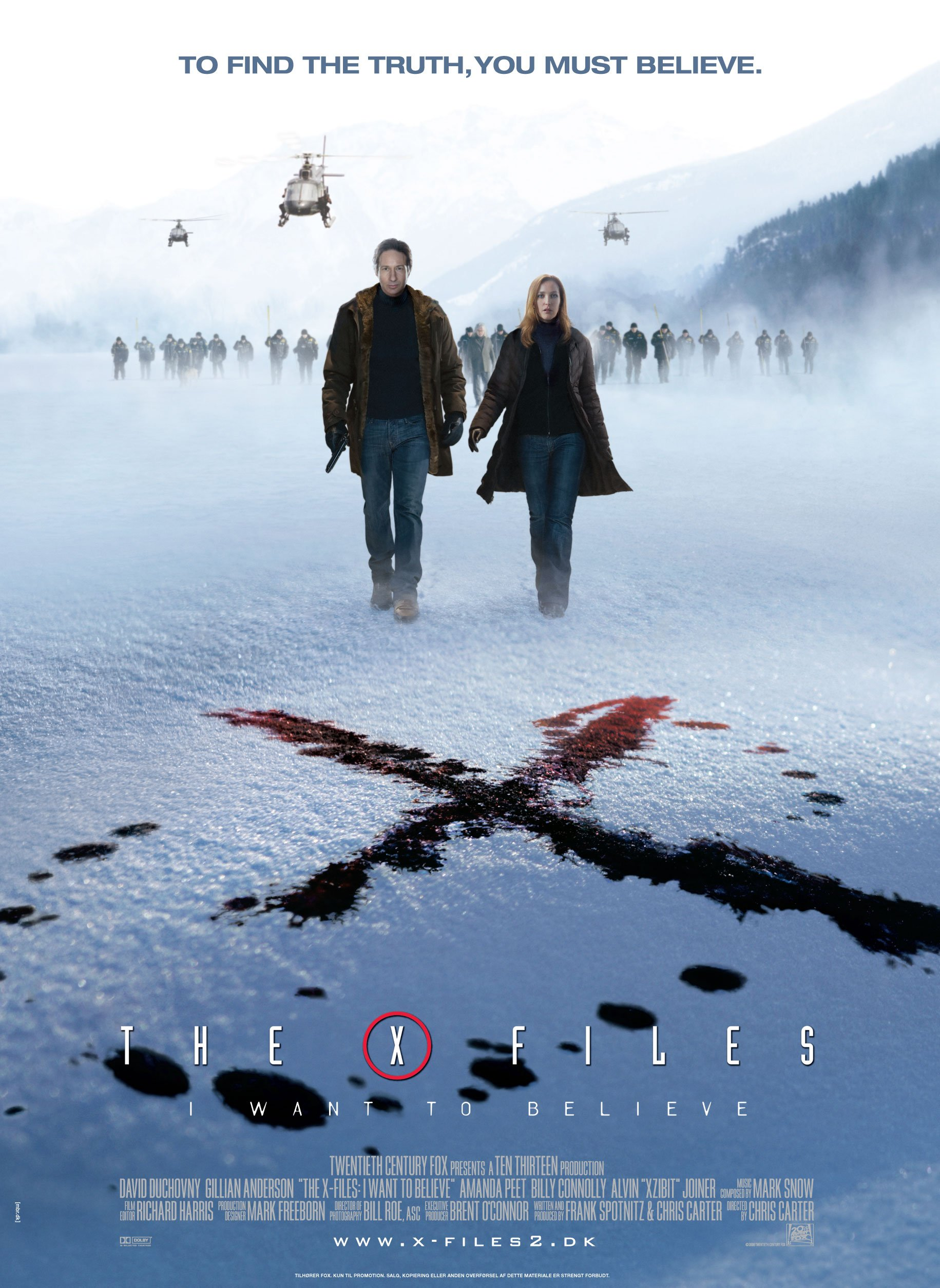 Files  I Want to Believe  The  2008  posterI Want To Believe X Files