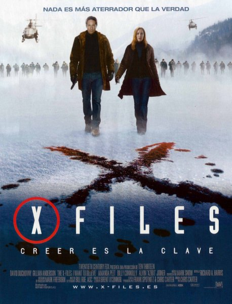 X-Files: I Want to Believe, The poster