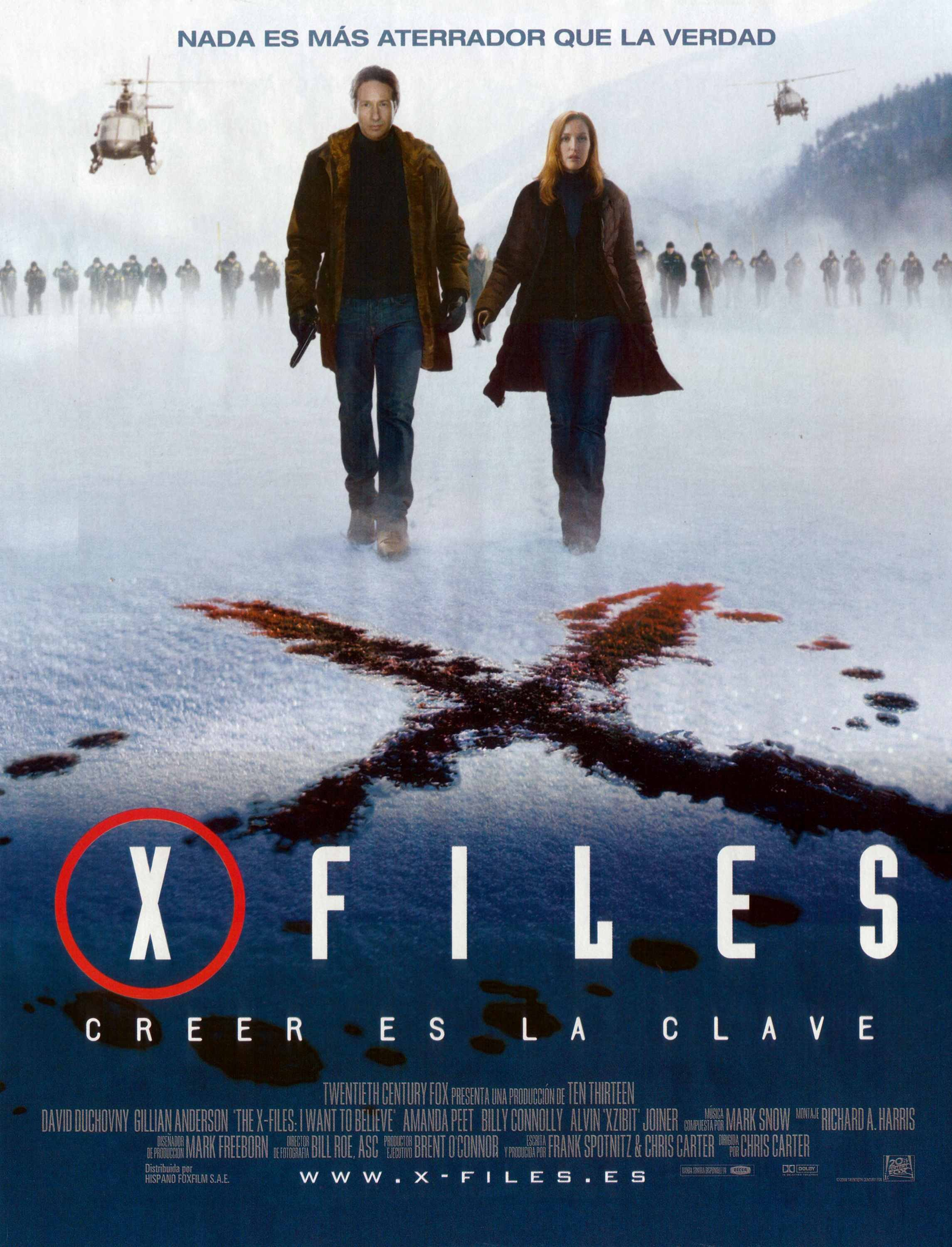 xfiles i want to believe the 2008 poster
