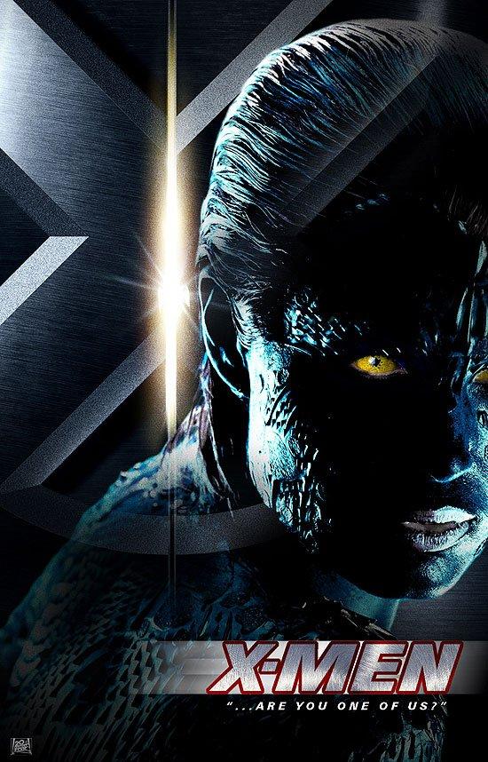 X men 2 movie poster