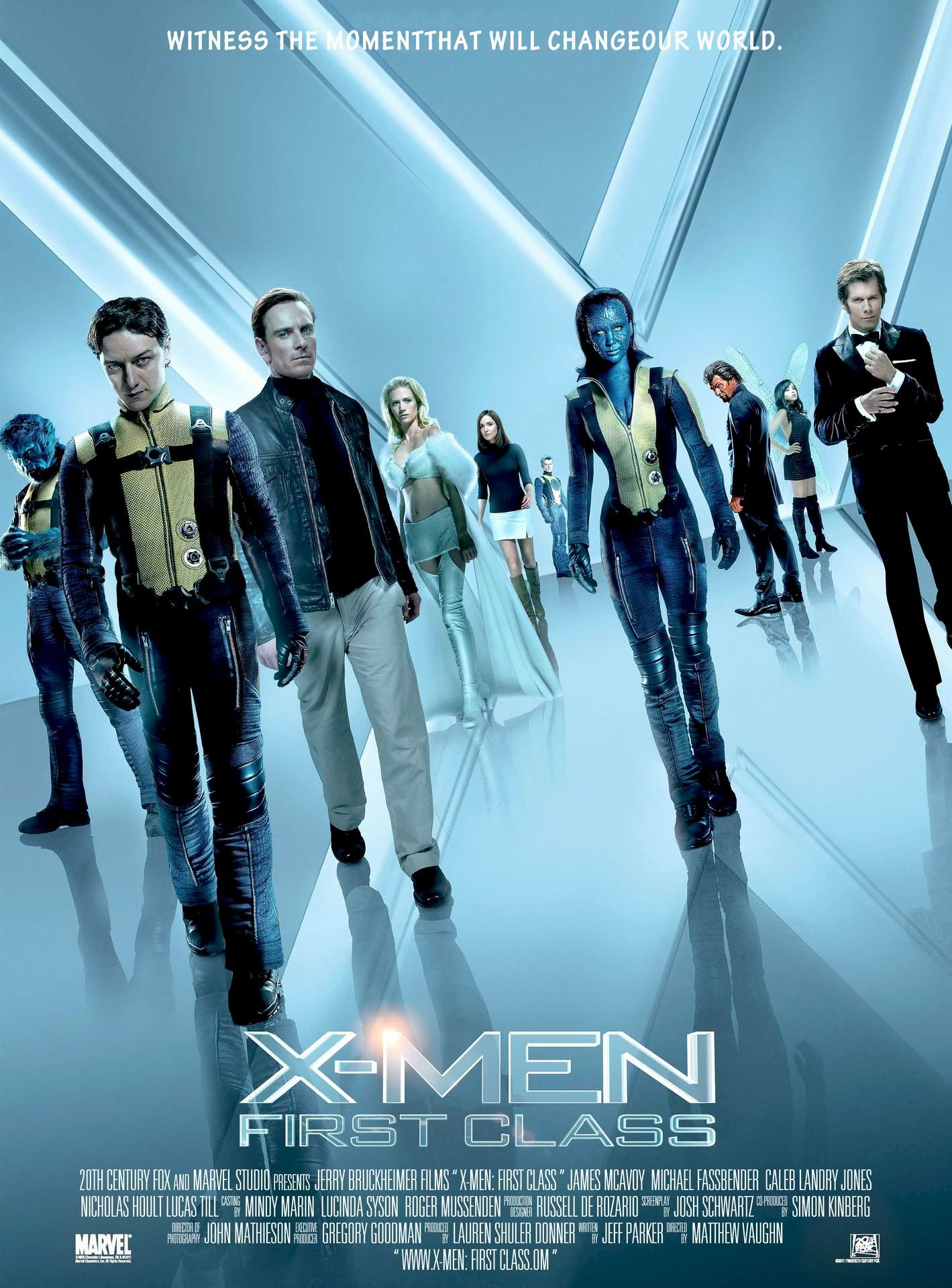x men first class 2011 poster. Black Bedroom Furniture Sets. Home Design Ideas