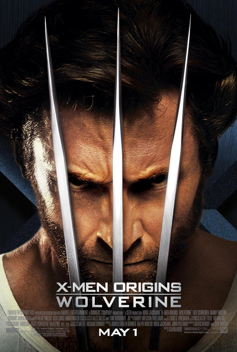 x men origins wolverine 2009 poster. Black Bedroom Furniture Sets. Home Design Ideas